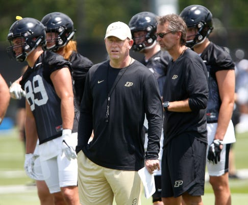 Laf Wednesday At Purdue Fb Practice
