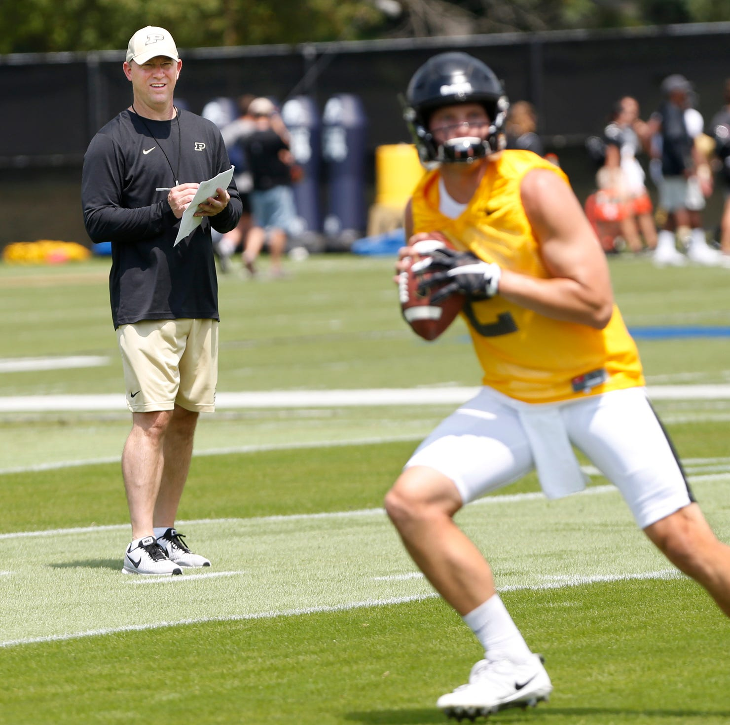Purdue QB Elijah Sindelar eager to perform in Jeff Brohm's aggressive offense