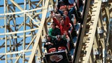 Wisconsin has 10 roller coasters; we took a ride on the King's favorite, Zippin Pippin.