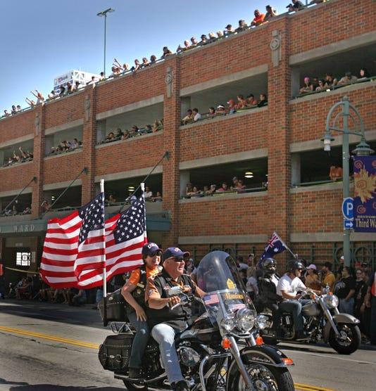 Harley-Davidson's 105th anniversary