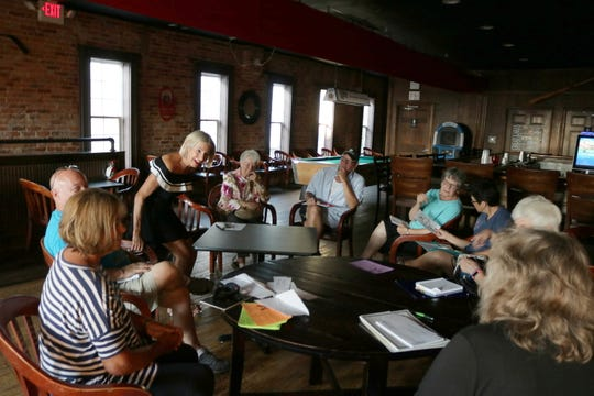 Writers, poets, creative thinkers and those just interested in listening come together to share at the monthly GPCAAC's Writers Circle, hosted at Rosie's in Port Clinton.