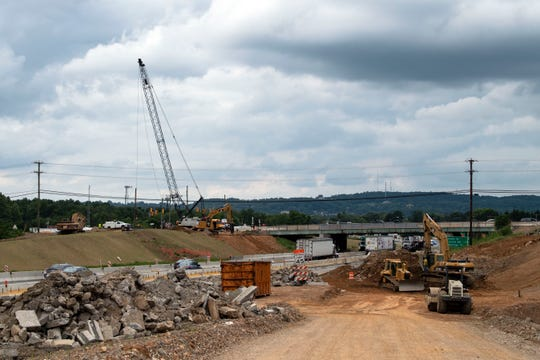 Work continues on the I-83/Mount Rose interchange. Part of the makeover will add new interchange ramps. While progress is being made, the road work isn't expected to be complete until 2020, says Greg Penny, a spokesman for the state Department of Transportation.