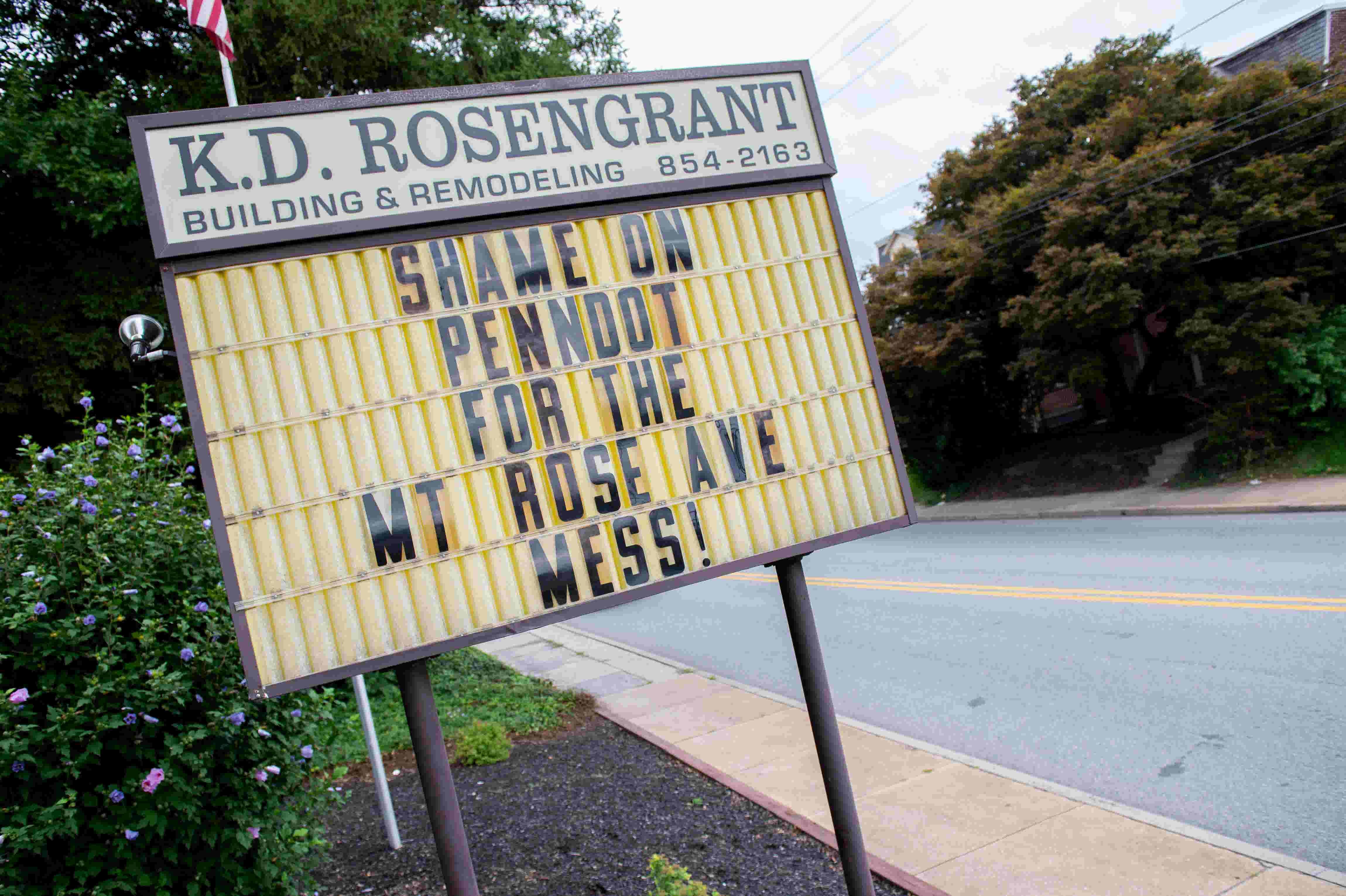 'Shame on PennDOT': I-83 construction prompts frustration at Mt  Rose Ave