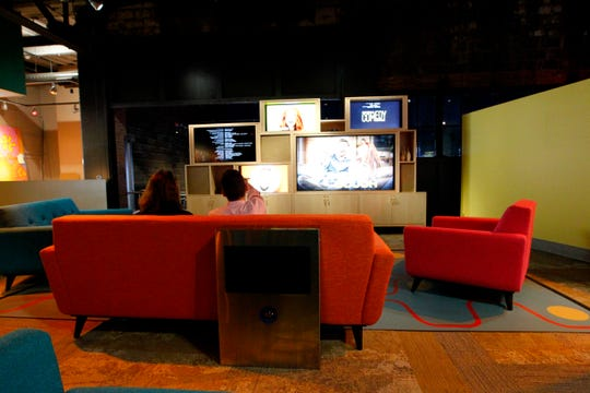 The National Comedy Center includes a variety of hands-on exhibits