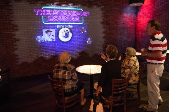 The National Comedy Center in Jamestown includes a stand-up lounge that will allow visitors to watch skits from their favorite entertainers