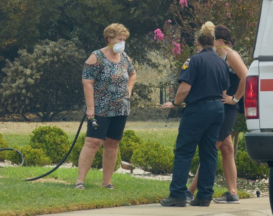 The Mary Lake neighborhood was getting a little back to normal Wednesday for some residents of the Mary Lake neighborhood.