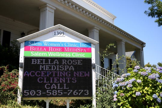 Bella Rose Medispa on Liberty St. SE in Salem on Wednesday, Aug. 1, 2018.