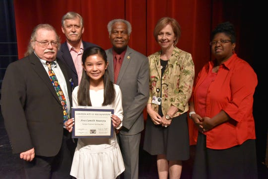 Ava Bautista was her school spelling bee champion and runner-up at the Regional Bee, and received an RSVBee invitation to compete in the Scripps National Spelling Bee.