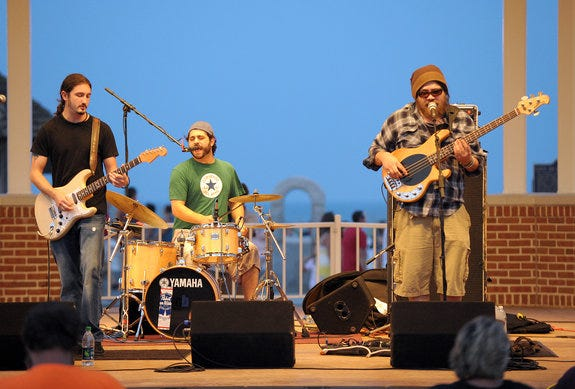 Lower Case Blues will among the performers at the three-day Soundwave Music & Arts Festival in Pittsville, which runs Friday through Sunday, Aug. 3-5.