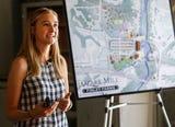 Megan Morris talks about Bass Pro Shops plans for the Ozark Mill