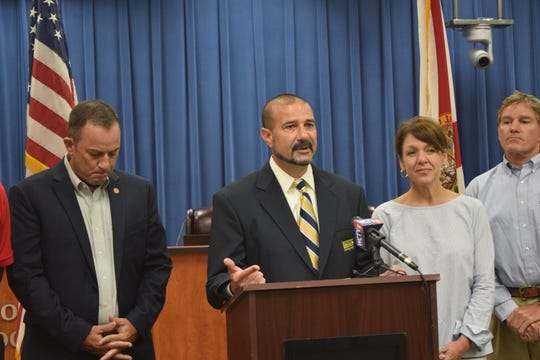 LCS Superintendent Rocky Hanna announces the SAFE program.