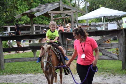 Pony Ride At Laporte Farms