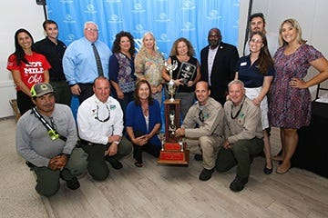 The St. Lucie County Board of County Commissioners led the fundraising efforts at the 36th Annual Chili Cook-Off on July 14 at the Havert L. Fenn Center. Staff from the Board of County Commissioners, coordinated by the Environmental Resources Department, helped raise $72,000 for the Boys & Girls Clubs of St. Lucie County.