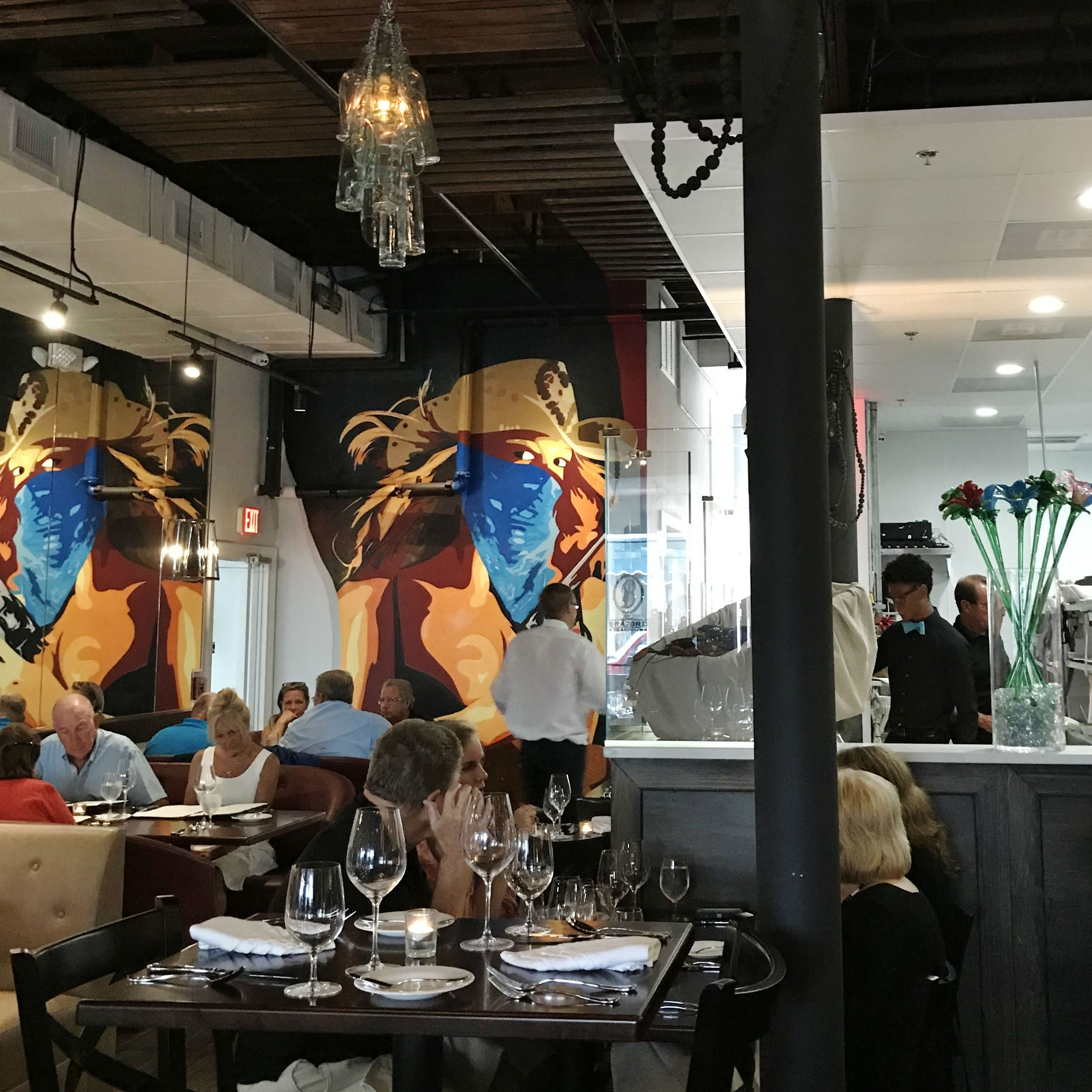 The Braford Steakhouse in Fort Pierce makes a big impression with atmosphere, portion size