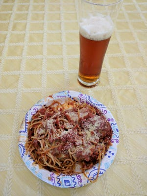 """Visitors to Mash Monkeys Brewery in Sebastian can do their own """"beer pairing"""" by ordering from local restaurants and having food delivered right to the brewery."""
