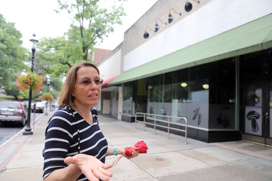 """Cathy Ruhland, 58, of Tarrytown:  """"I think this is a very exciting watershed moment for Tarrytown. We are feeling the pinch of the retail economy. You see it everywhere. ... I think we're going to be reclaiming our inner villages for people to live in. I think this is the opportunity to get away from a car-based mentality."""" The owners of the North Broadway parcels are devising their plans to develop the property into a mixed-use complex."""