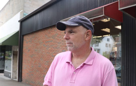 """Rob DeRocker, 59, of Tarrytown: """"It would be good to see some kind of development, including new rental housing here. Just not that scale,"""" DeRocker said, referring to the North Broadway property owners' preliminary concept that included 225 apartments. """"My wife would love to see a Trader Joe's here.""""  The owners of the North Broadway parcels are devising their plans to develop the property into a mixed-use complex."""