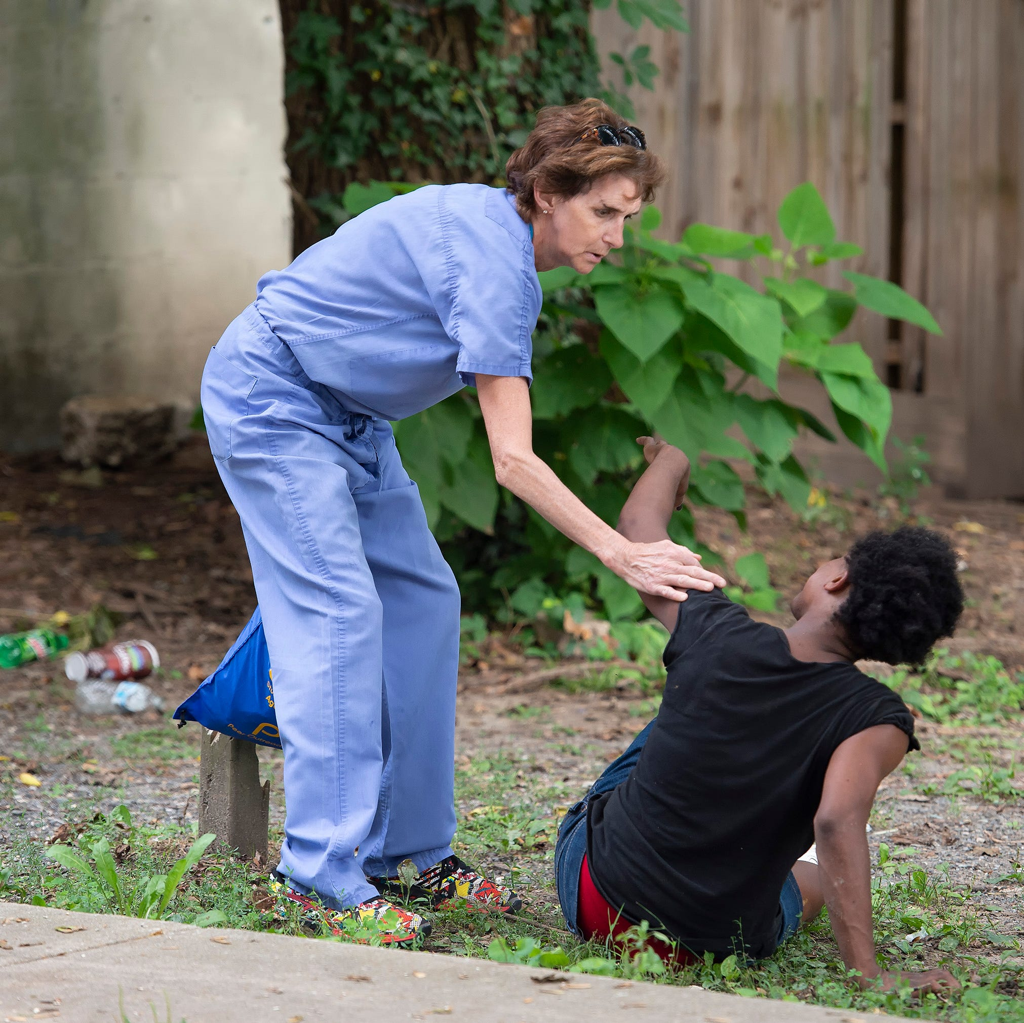 A moment from death in vacant Dover lot, overdose victim is saved