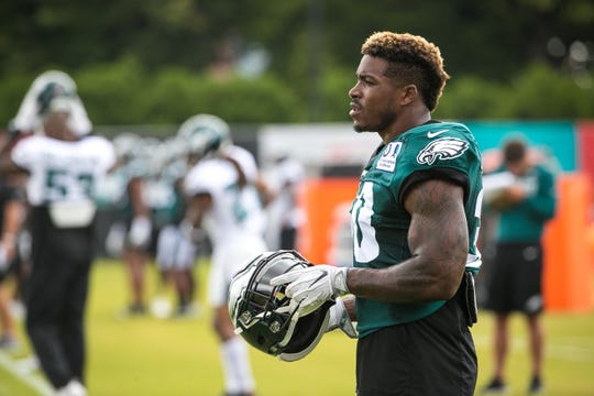 Corey Clement recently returned to practice after missing more than two weeks with an ankle injury.