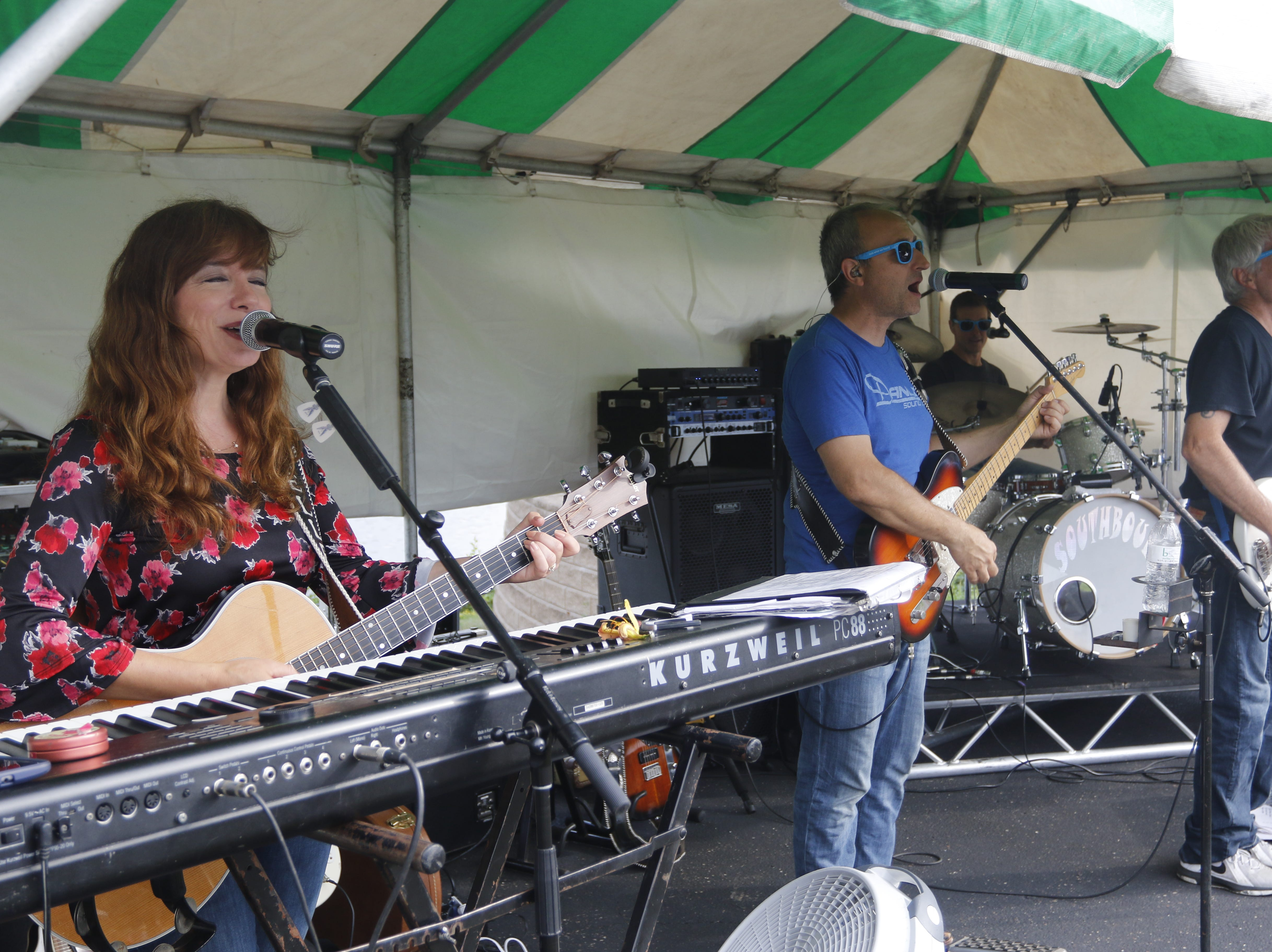 Local band Southbound plays at the Wisconsin Rapids community picnic on First Avenue South and Johnson Street Wednesday, August 1, 2018.