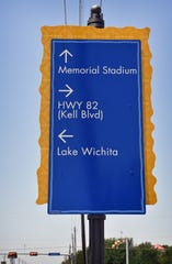 A large signage project throughout Wichita Falls is making it easier to get around for many, but a few of the signs are misspelled. The contractor is making corrections.