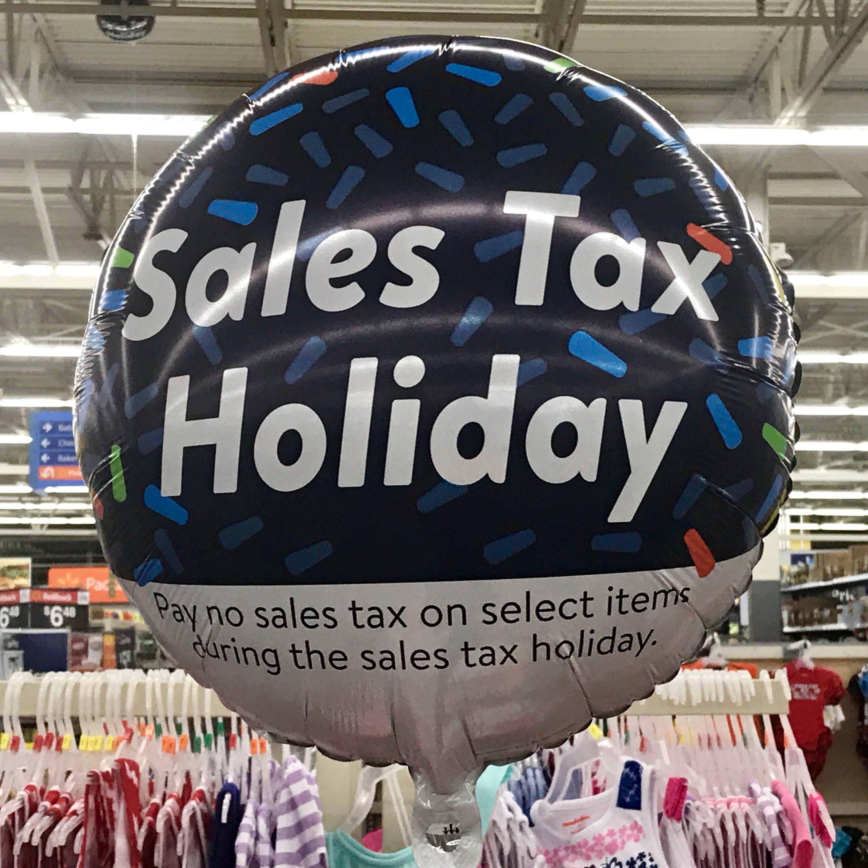 Ten states have sales tax holidays the first weekend in August.