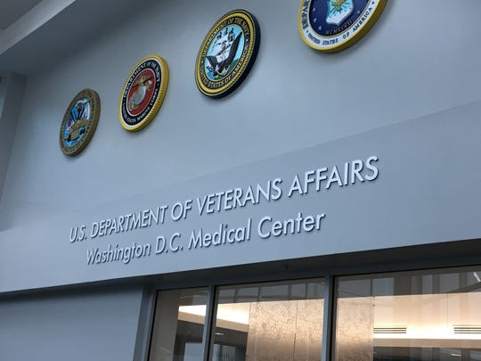 The VA hospital in Washington serves tens of thousands of veterans.