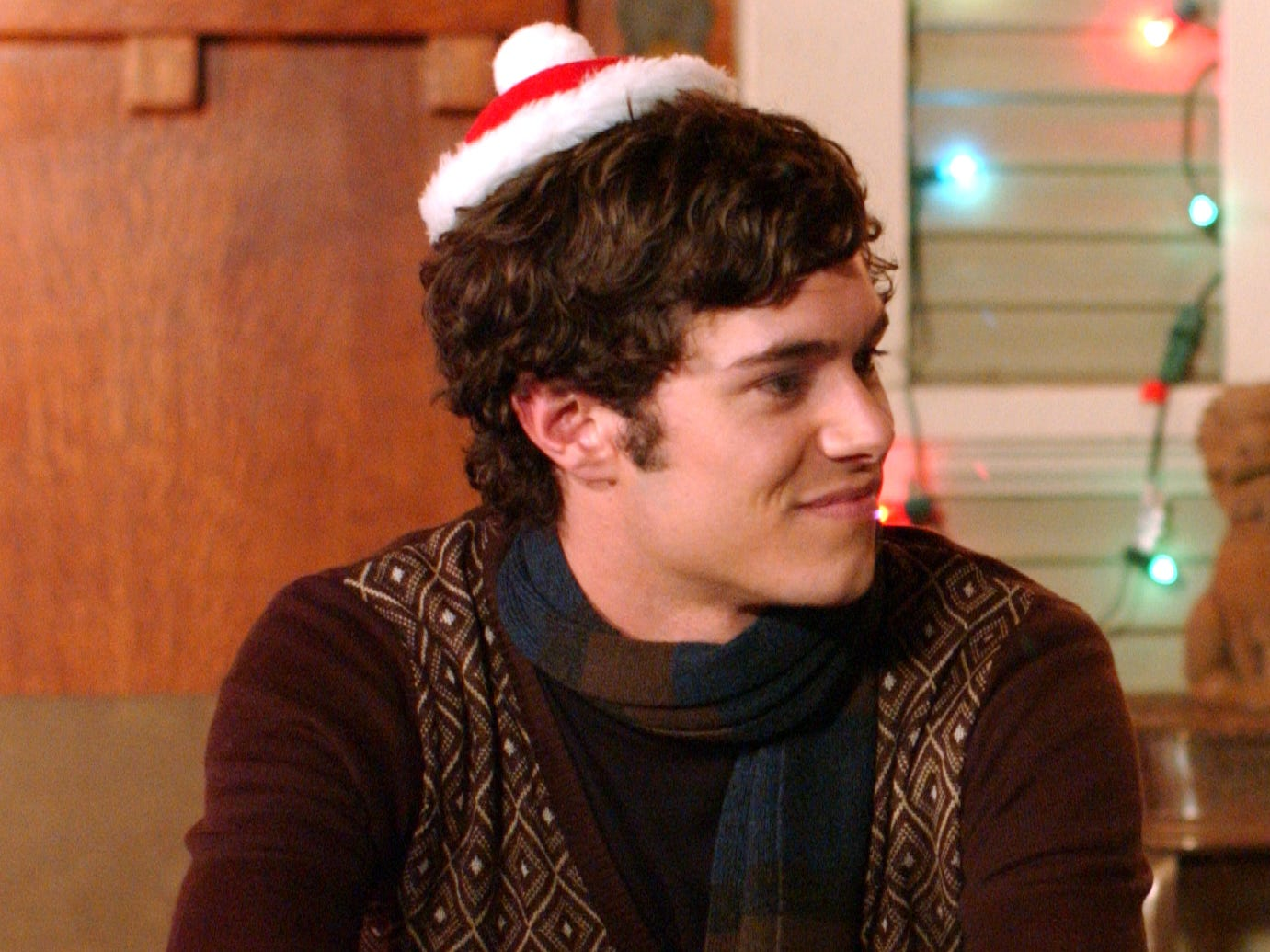 Adam Brody was Seth Cohen, who befriends Ryan when he moves in with the Cohen family.