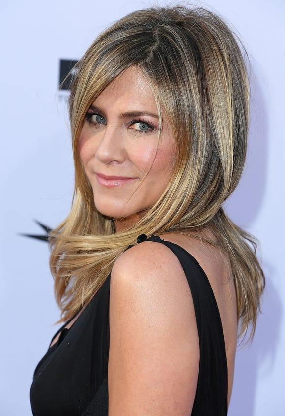 Jennifer Aniston at the American Film Institute's 46th Life Achievement Award Gala Tribute To George Clooney on June 7, 2018 in Hollywood.