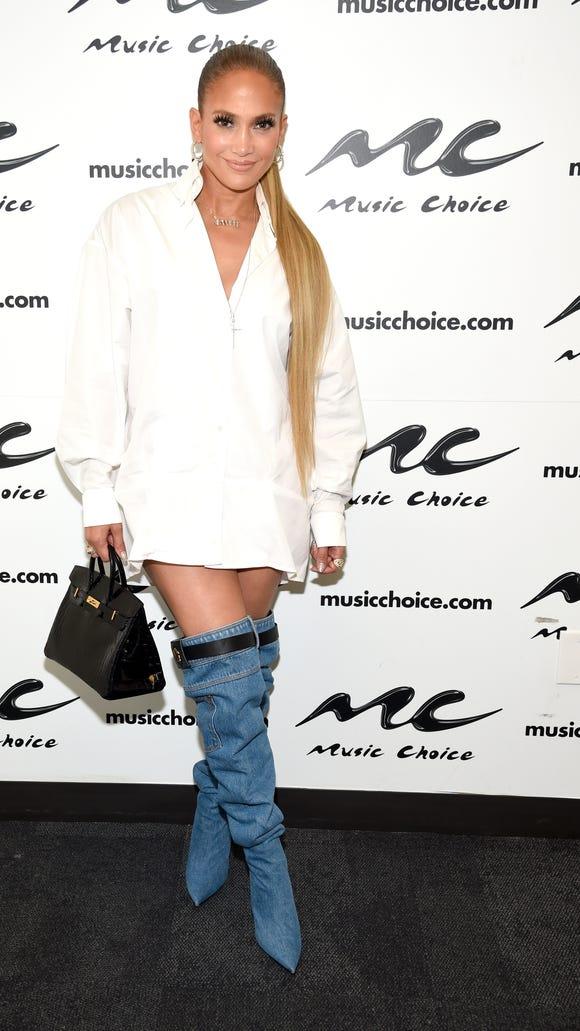 Jennifer Lopez's #OOTD on Tuesday.