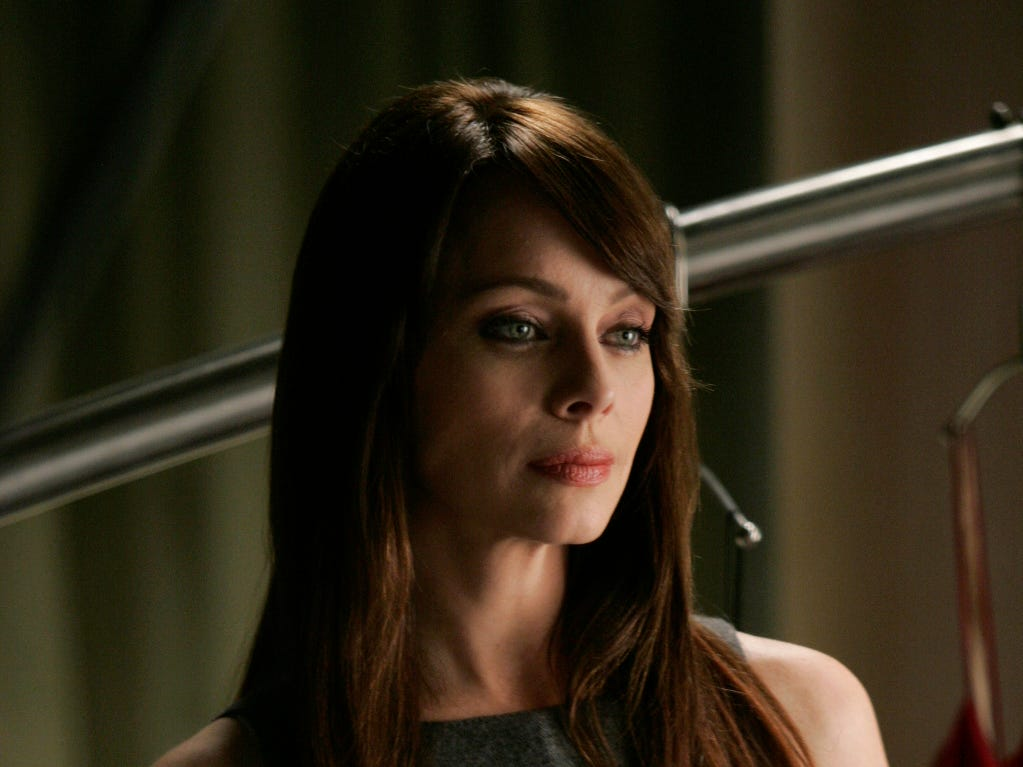 "Clarke starred in CW's ""Nikita"" for four seasons as a psychologist and interrogator. She's also had guest stints on ""The Vampire Diaries,"" ""Gotham"" and ""Entourage."""