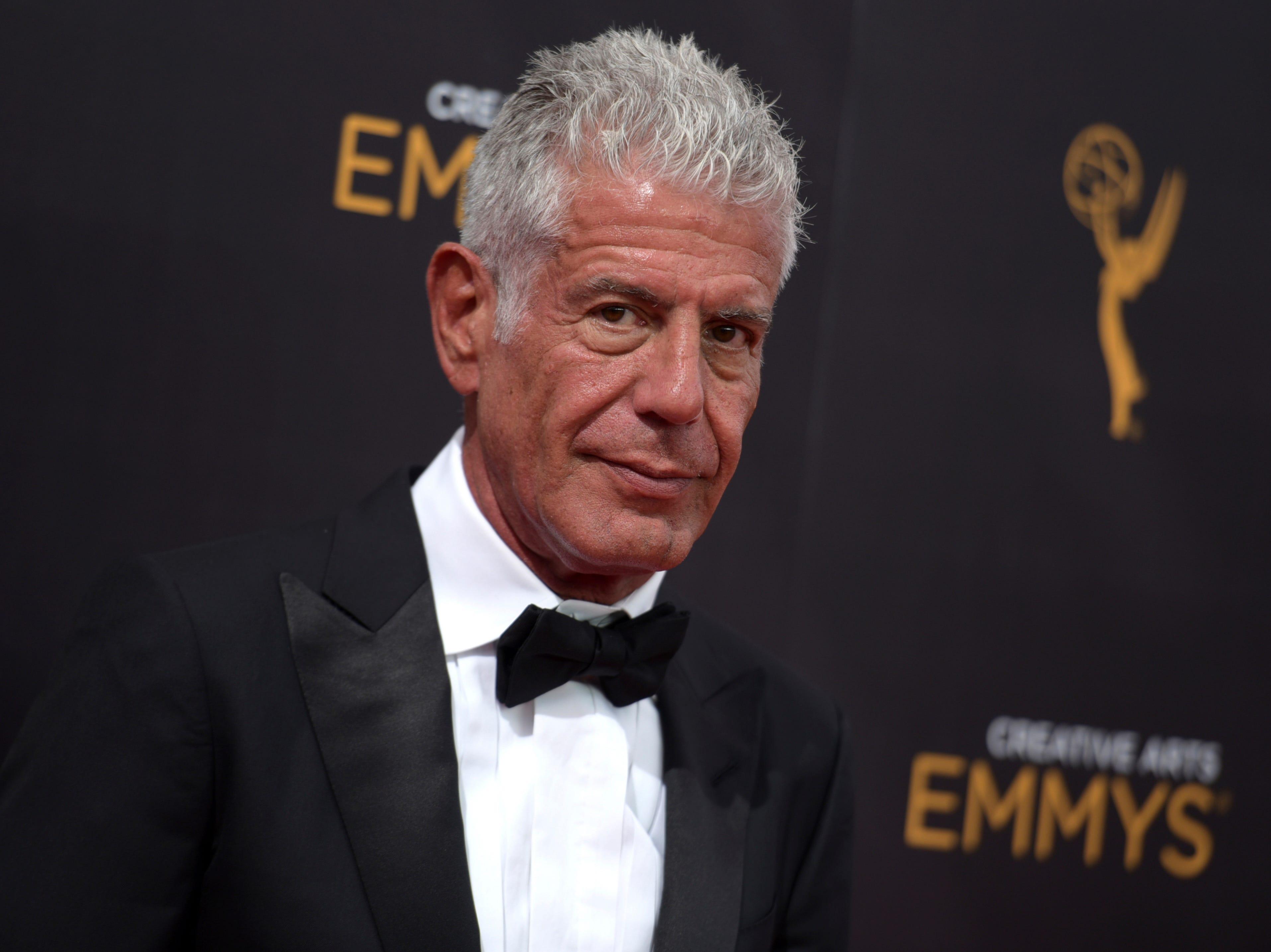 Ap Emmy Nominations Bourdain A Ent File Usa Ca