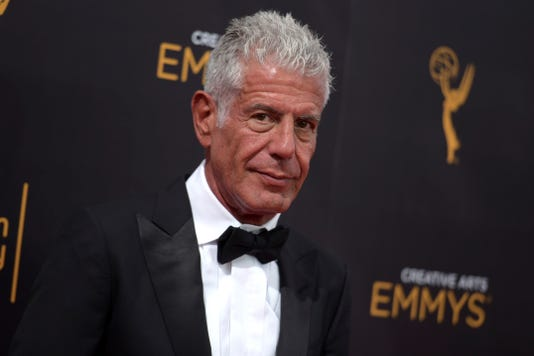 Ap Emmy Nominations Bourdain A Ent File Usa Ca