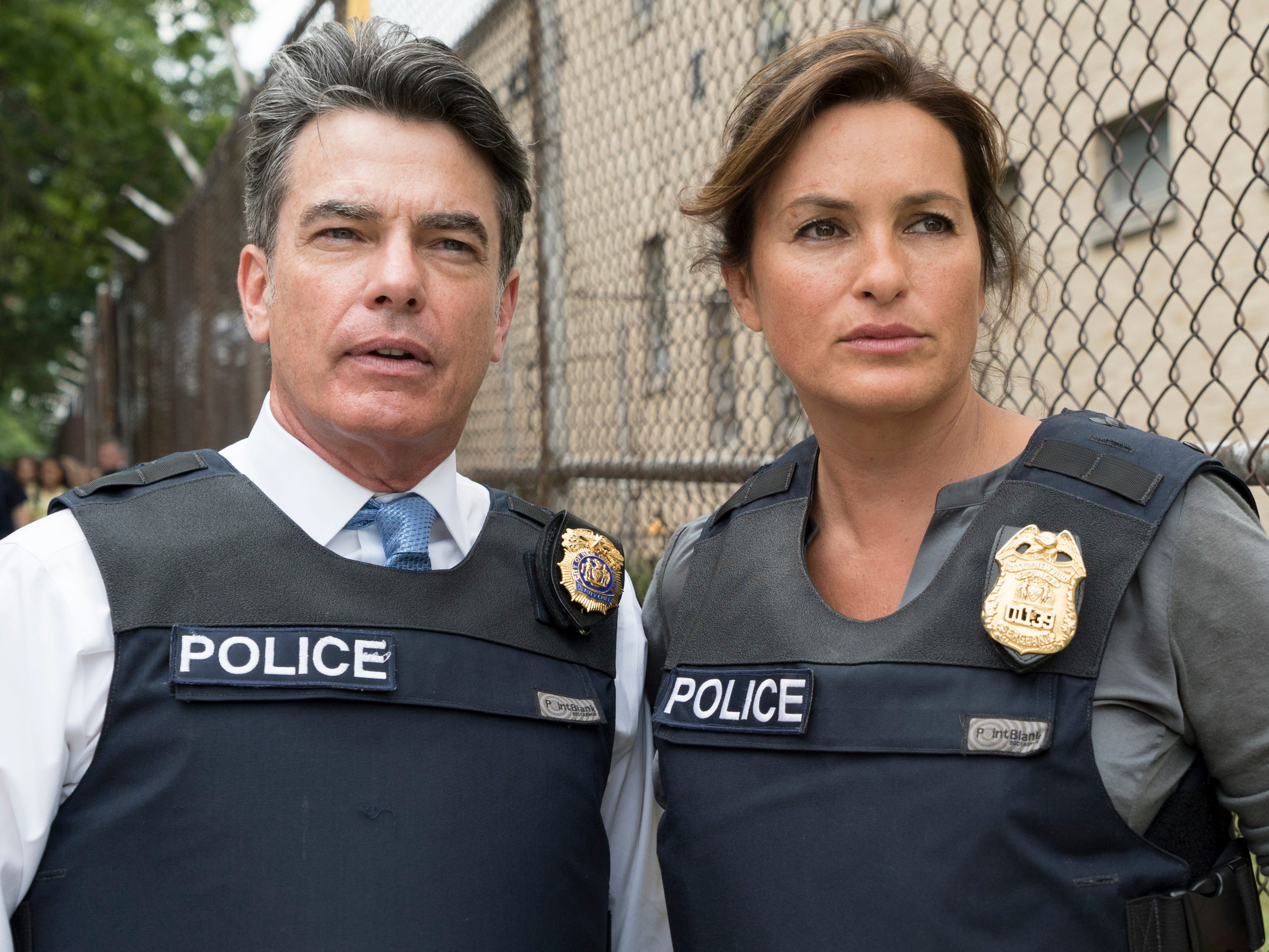 "Gallagher had recurring roles in several television shows after ""The O.C.,"" including USA's ""Covert Affairs,"" Netflix's ""Grace and Frankie"" and NBC's ""Law & Order: SVU"" with Mariska Hargitay (pictured)."