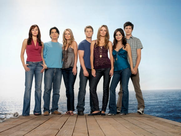"An underprivileged kid moved into wealthy Orange County, California on Fox's ""The O.C."""