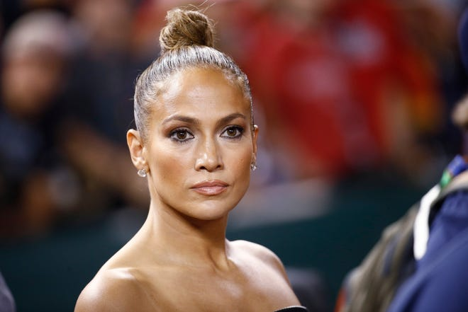 """""""What about my boots?"""" JLo probably."""