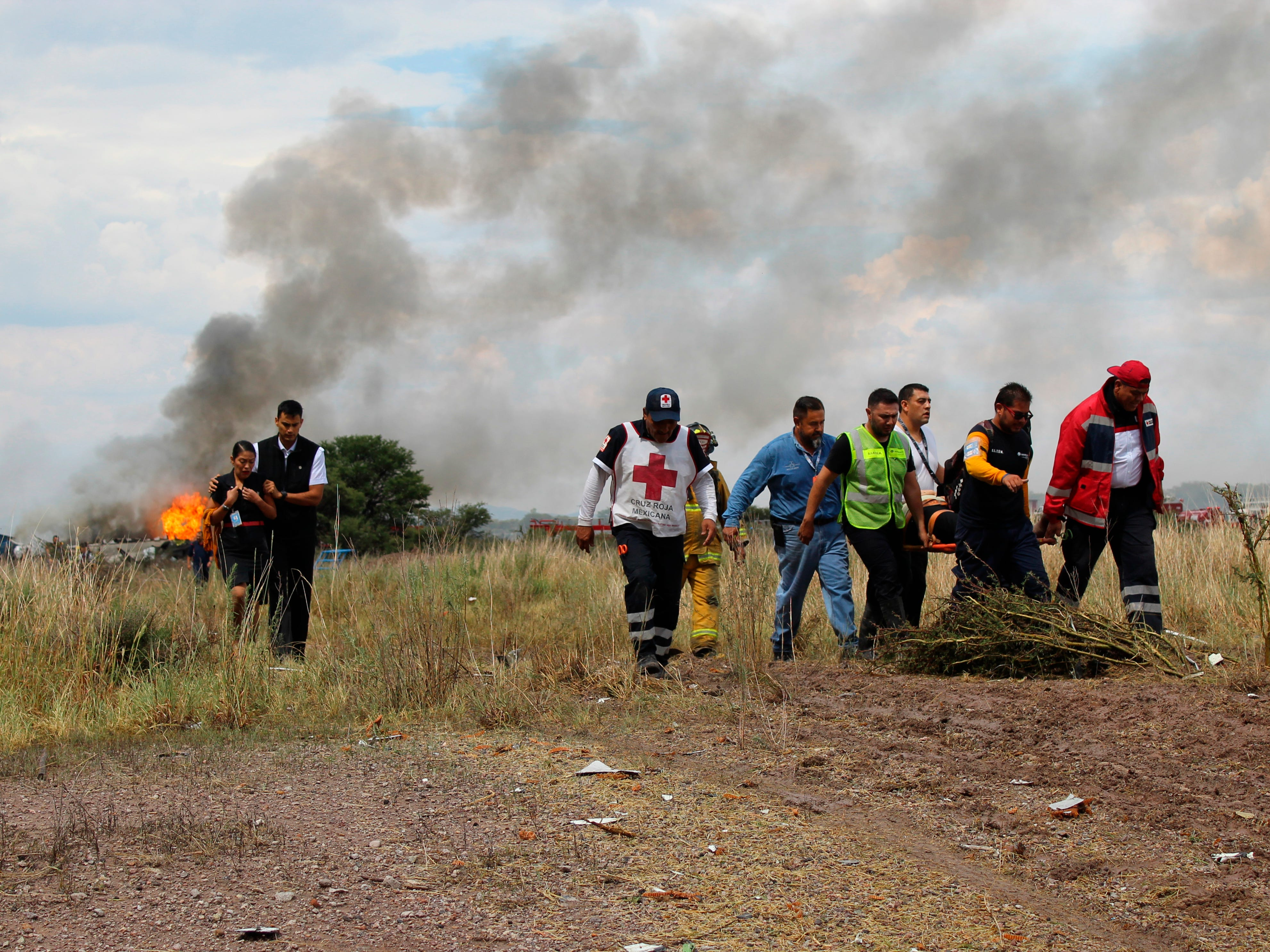 Ap Mexico Airliner Accident I Mex