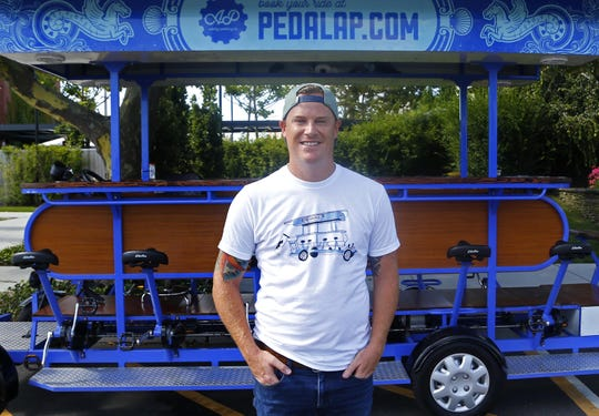 Jesse Pomeroy, owner of Asbury Pedalcycle in Asbury Park.