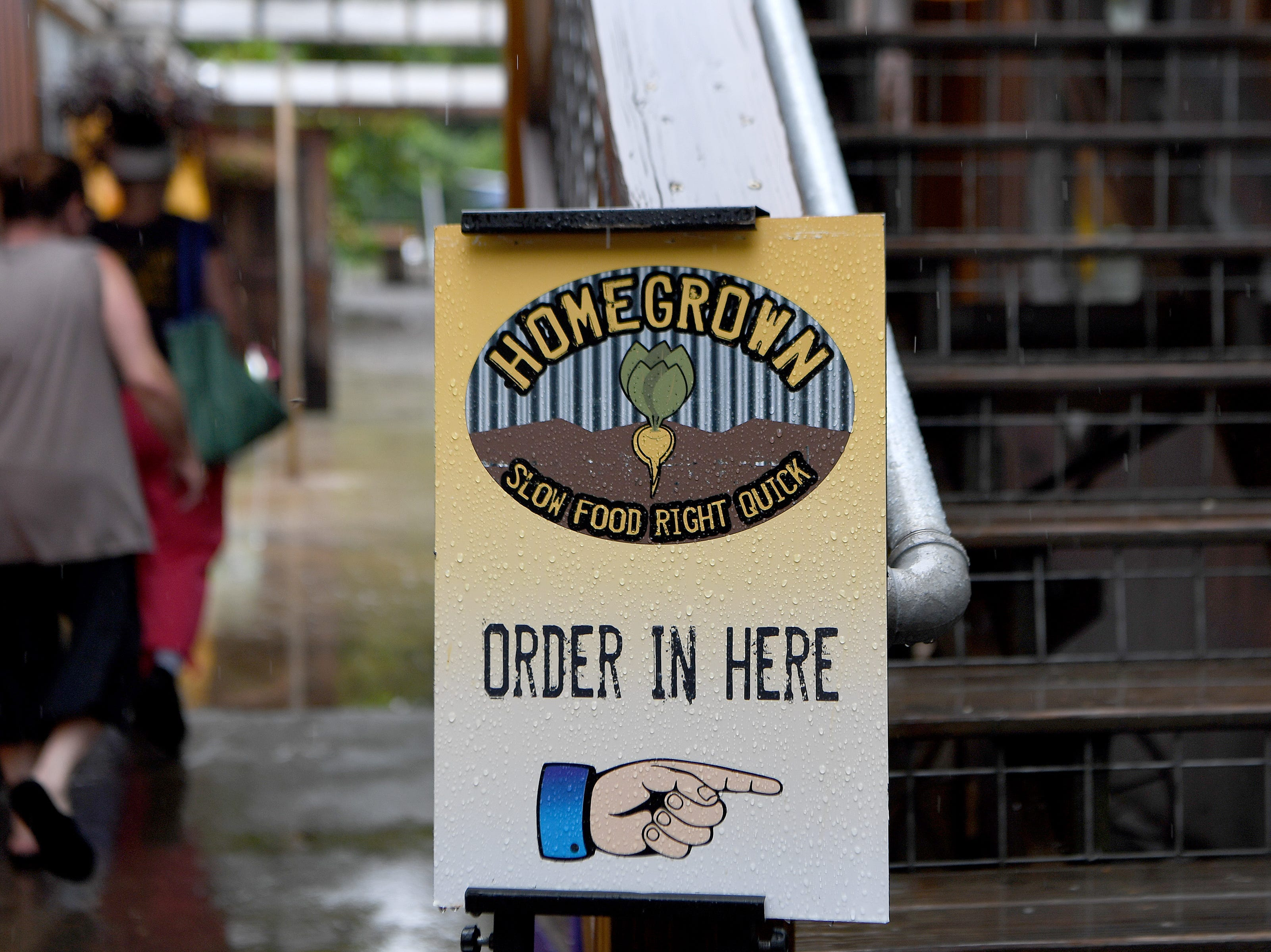 HomeGrown West, the new second location of the Merrimon Avenue flagship, is located in the Asheville Food Park on Amboy Road.