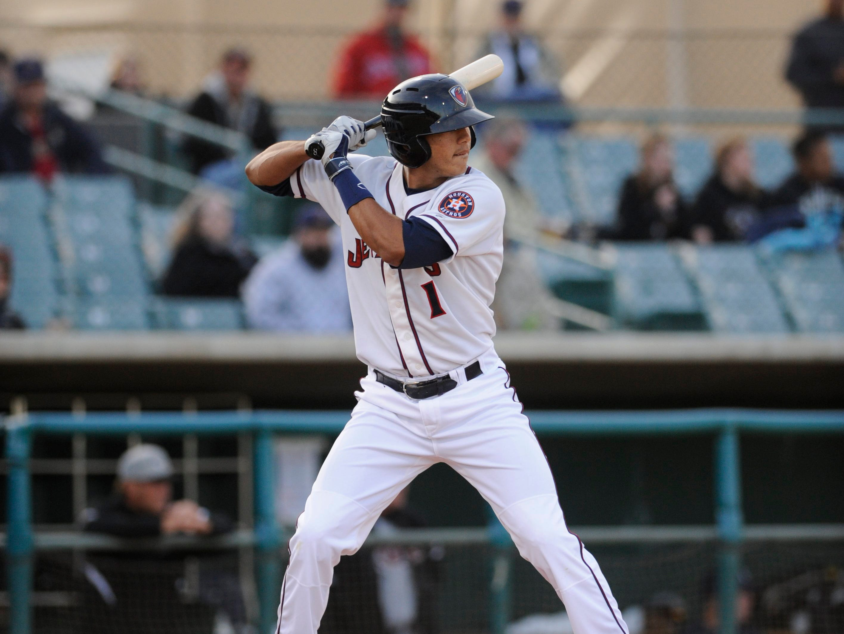 In his second full pro season in 2014, Carlos Correa put up strong numbers for High-A Lancaster.