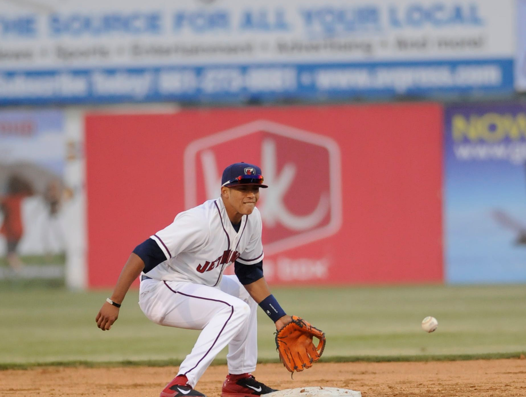 """In 2014, Houston Astros general manager Jeff Luhnow said there was """"zero question"""" about Carlos Correa's ability to play shortstop at a high level."""