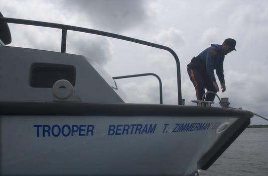 NJ State Police boat