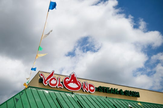 Volcano Steak & Sushi, site of the former Los Amigos, in West Berlin.