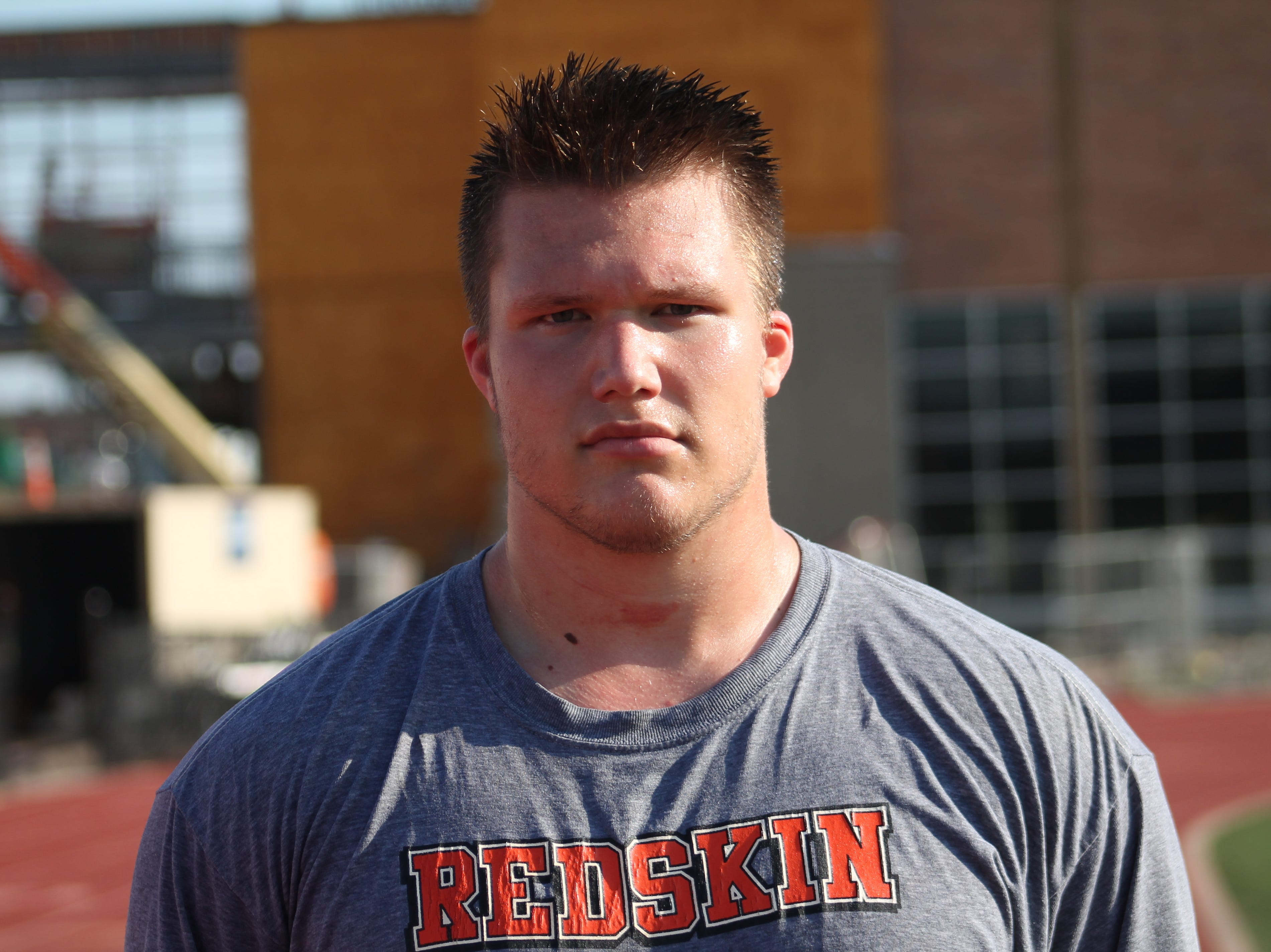Anderson offensive lineman Zeke Correll will attend Notre Dame.
