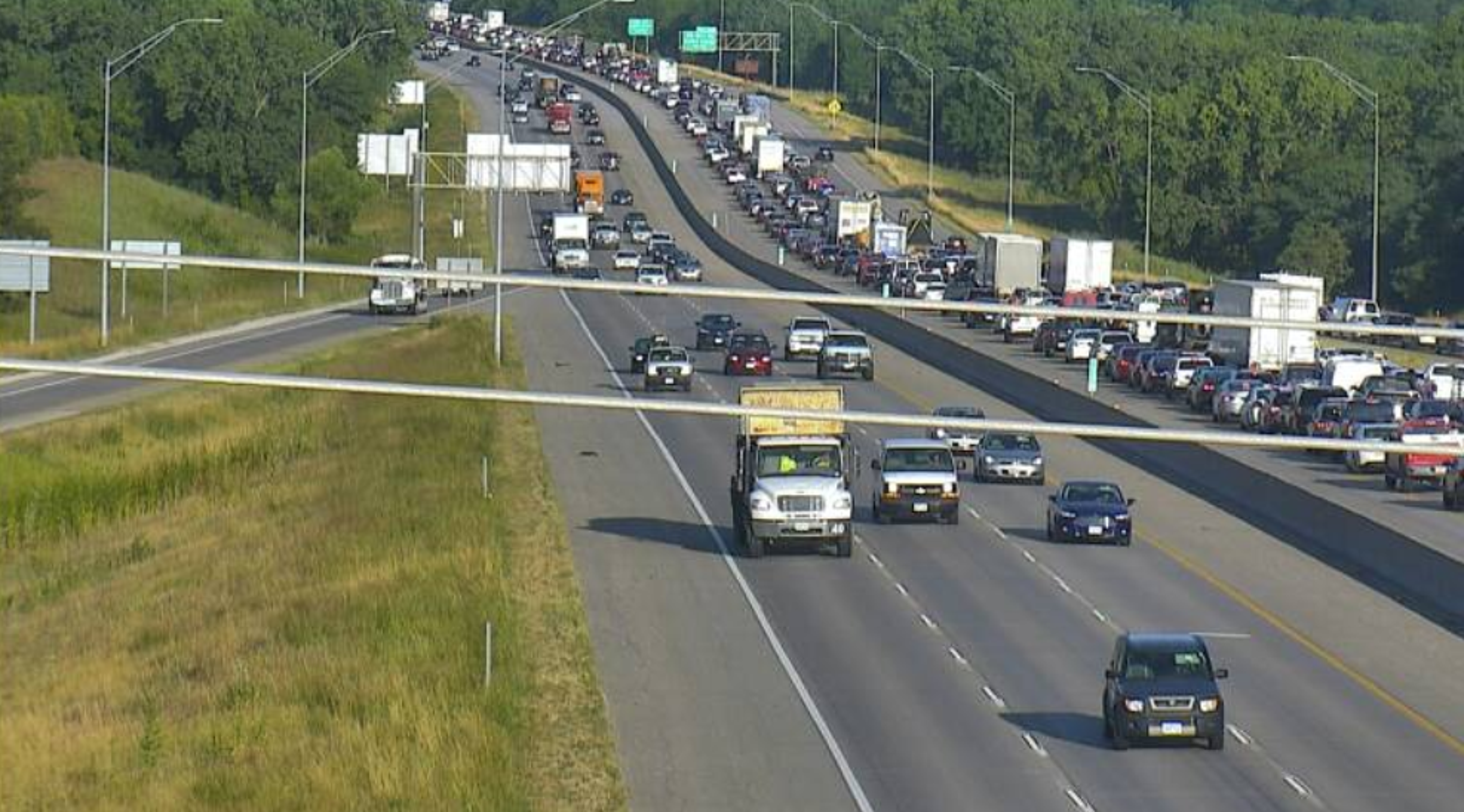 State patrol: 80/35 accident could cause delays through
