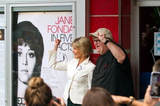 Jane Fonda Michael Moore