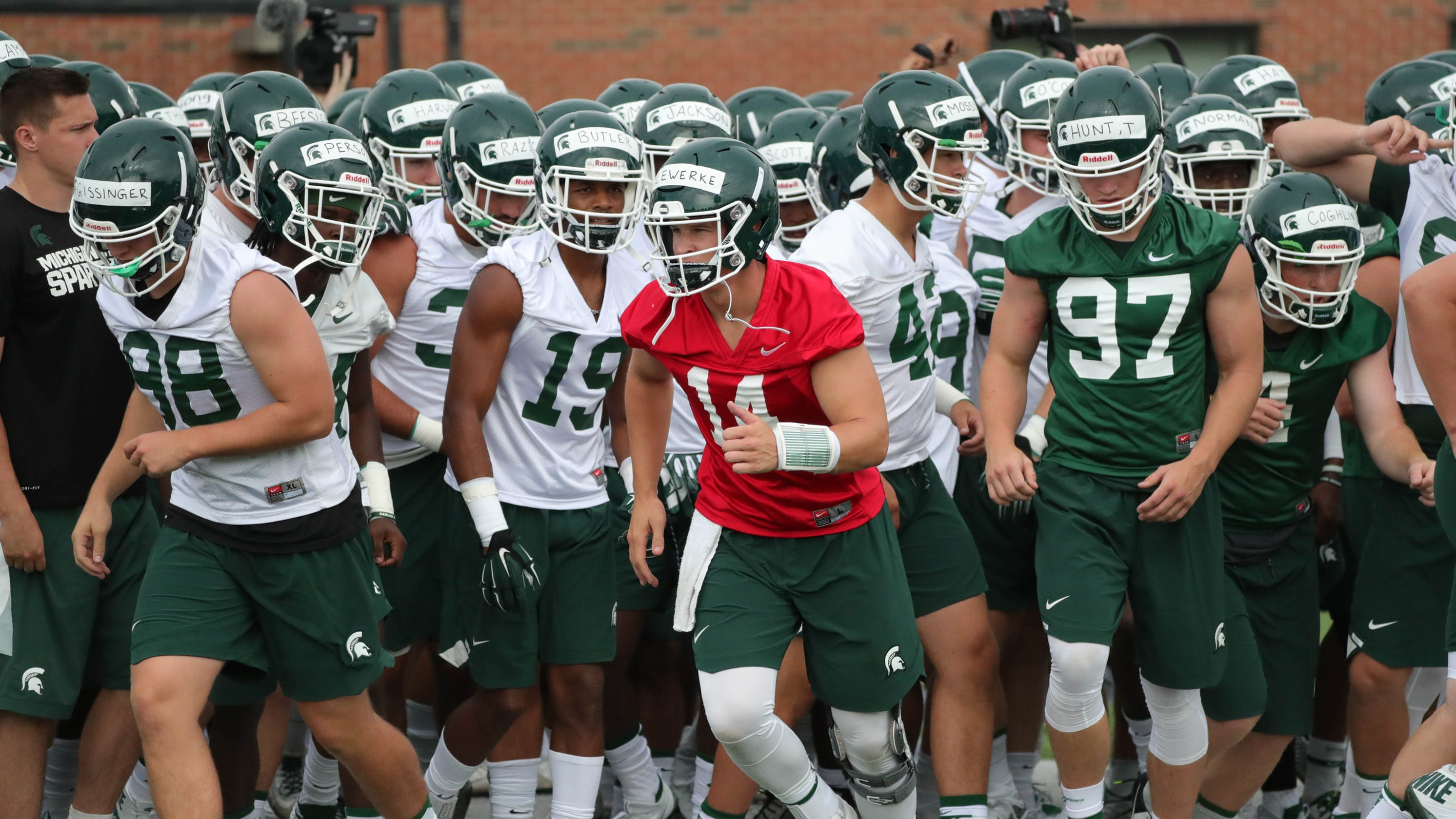 Michigan State S 2018 Projected Depth Chart Plenty Of Starters Back