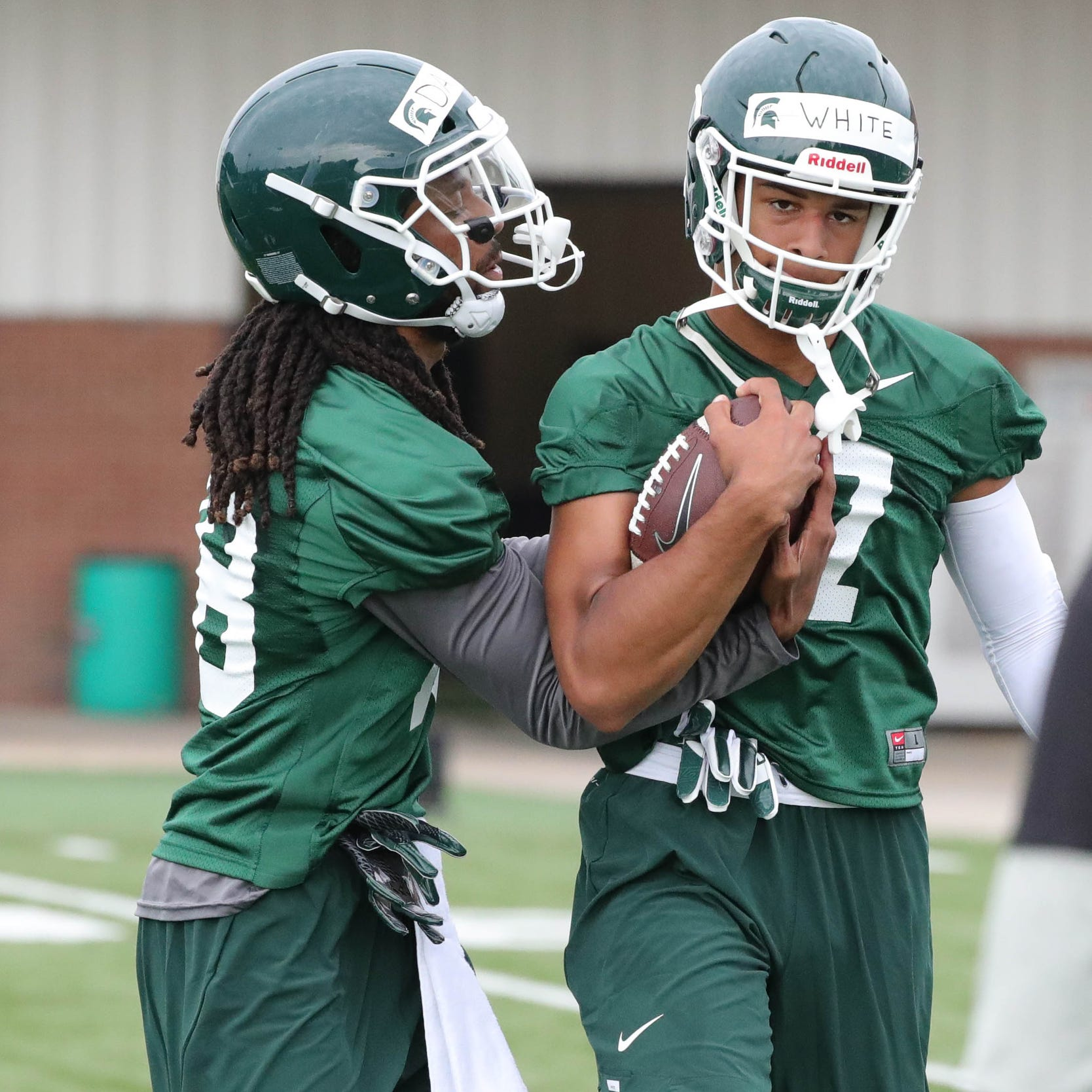 Michigan State football WRs 'can wreak havoc' this season. Here's why