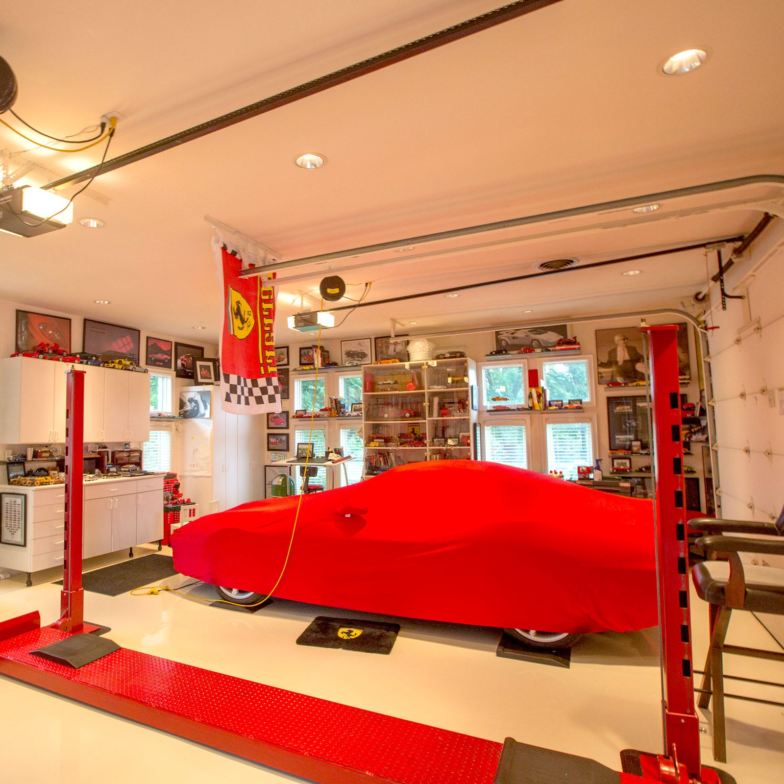 This Oakland Township home's 2 garages are just the beginning of luxury