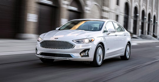 The 2019 Ford Fusion-- the first Ford vehicle globally with Co-Pilot360 driver-assist technology.
